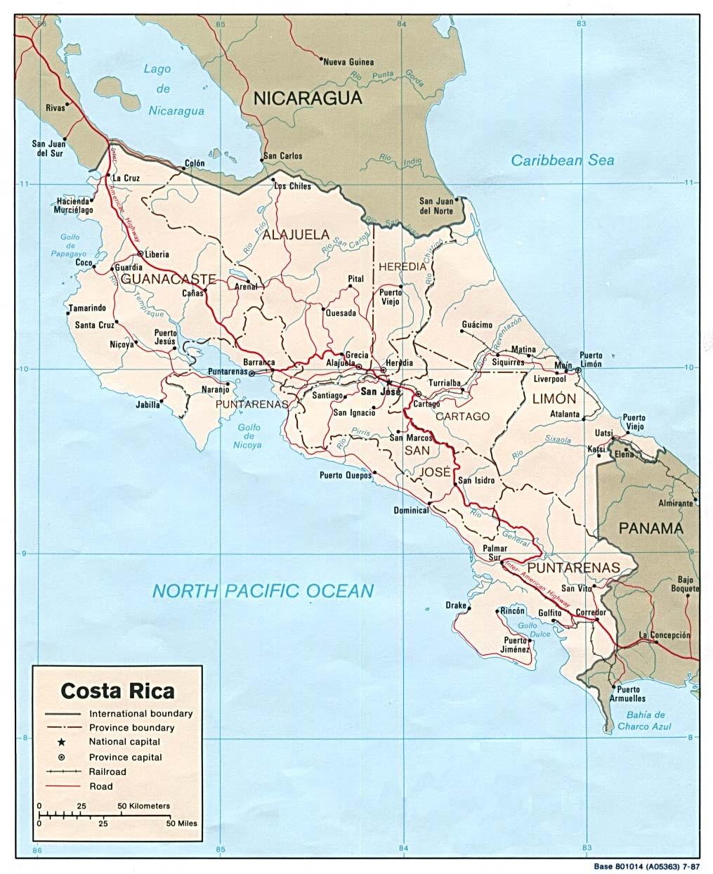 Costa Rica Karte Mittelamerika.Eindrücke Costa Rica Die Schweiz Mittelamerikas Ein Besuch Im